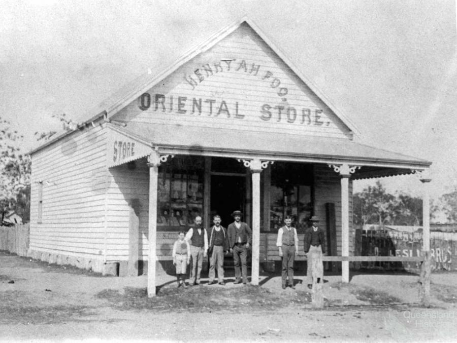 Chinese traders in the nineteenth century queensland for Oriental furniture brisbane