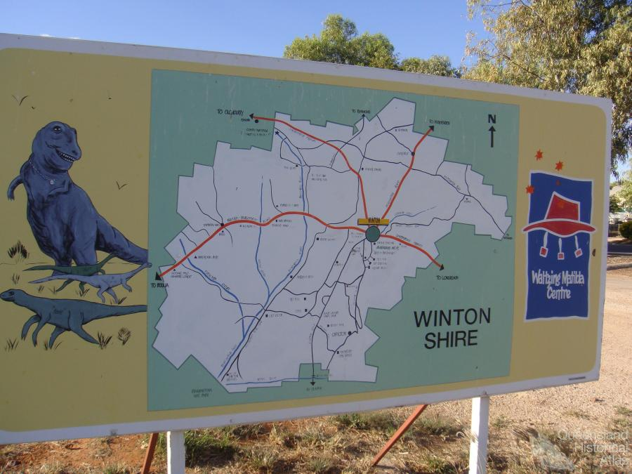Winton (QLD) Australia  City pictures : Winton Shire, 2009 | Queensland Historical Atlas