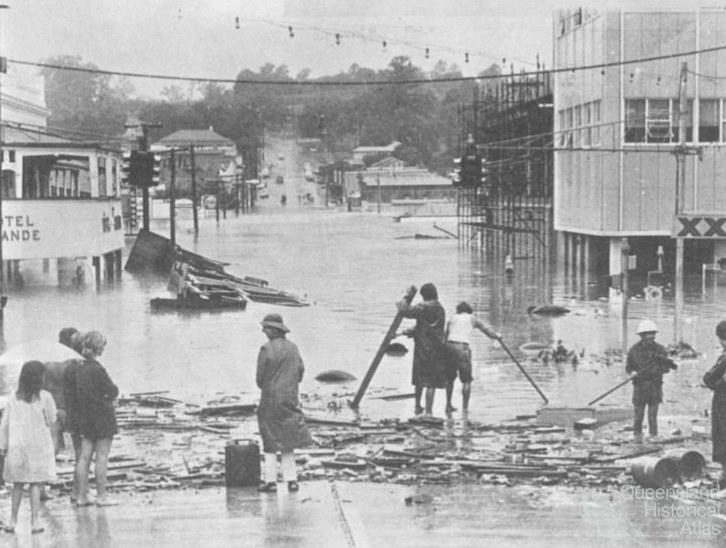 Flooding In Ipswich 1974 Queensland Historical Atlas