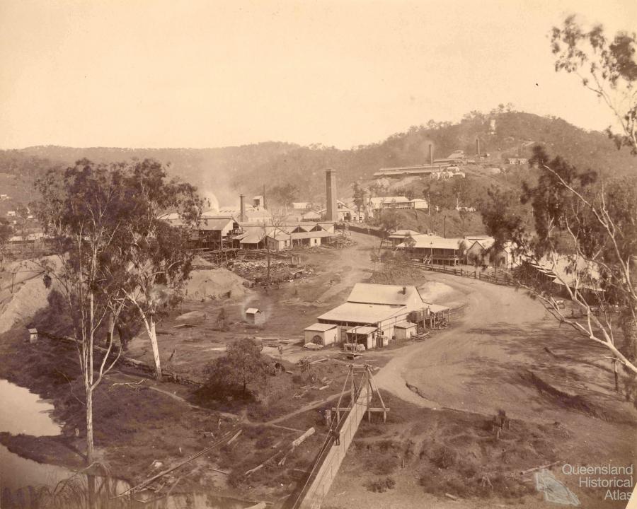 Gold Reef City >> Mount Morgan, 1890-93 | Queensland Historical Atlas