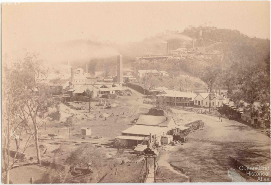 Mount Morgan 1890 93 Queensland Historical Atlas