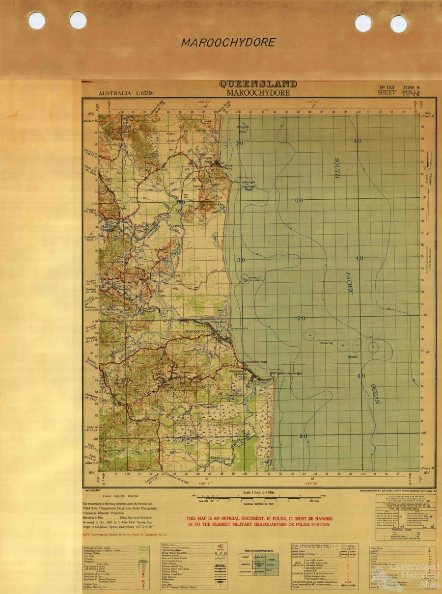 Sunshine Coast Queensland Historical Atlas