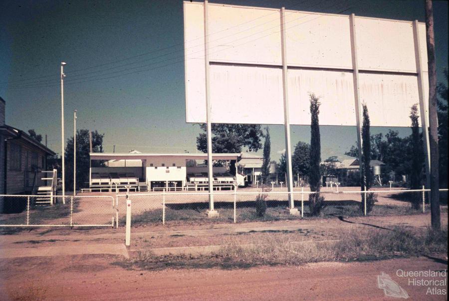 Drive In Cinema Jericho C1960 Queensland Historical Atlas