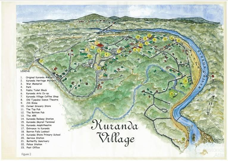 see my location on google maps with Kuranda Village on 1154783955 likewise Mtbs Muay Thai T Shirt further Elbe Sandstone Mountains additionally Details likewise Batur Hot Springs And Apung Resto.