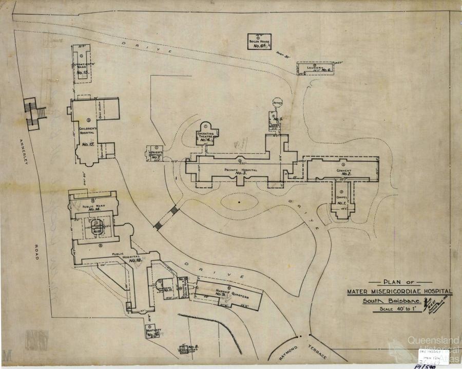 Hospitals In The Landscape Queensland Historical Atlas