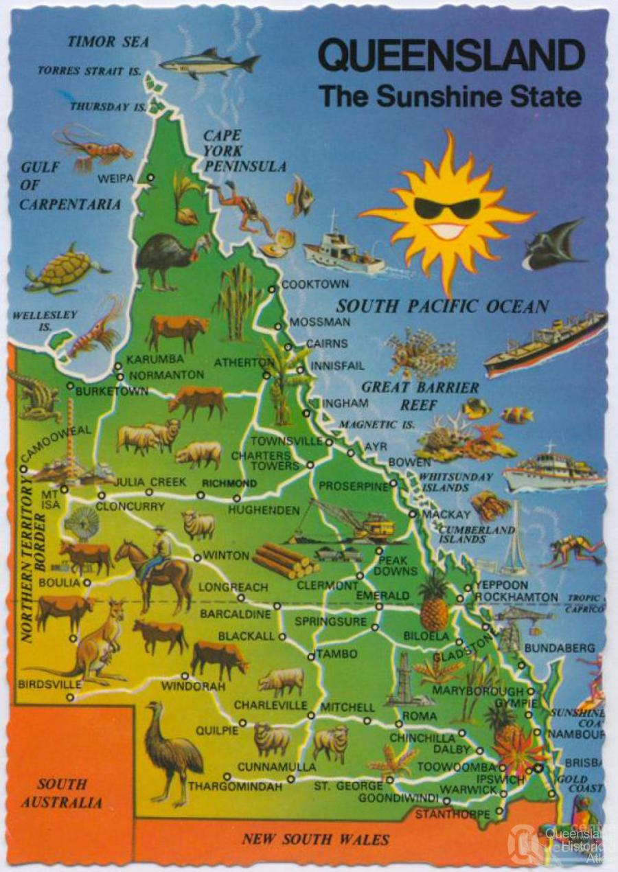 Queensland  the slogan...