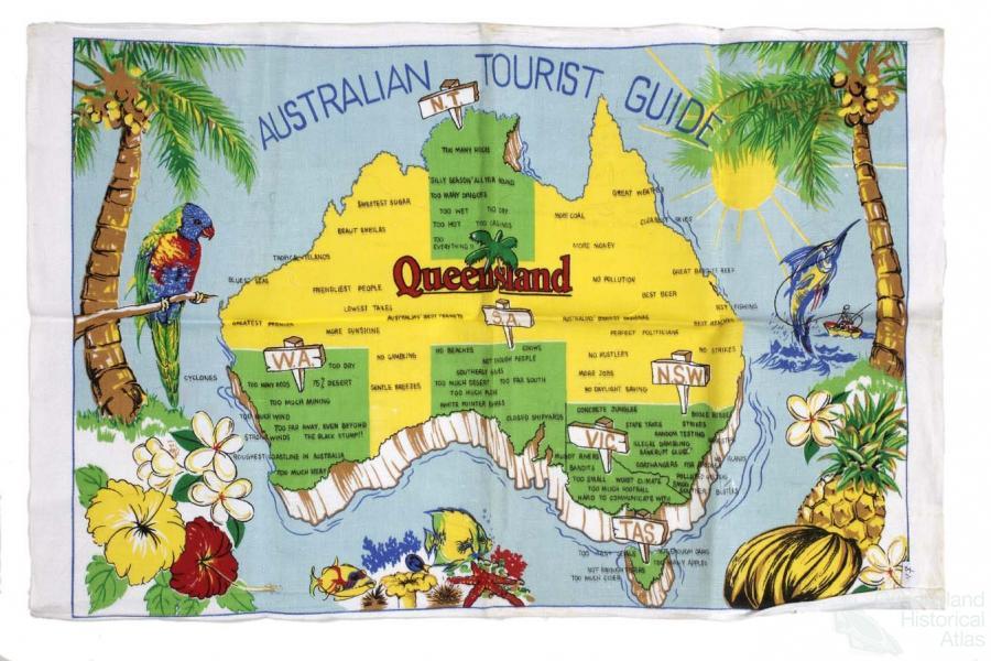 Map Of Australian Landscapes.Distinctiveness How Queensland Is A Distinctive Landscape And