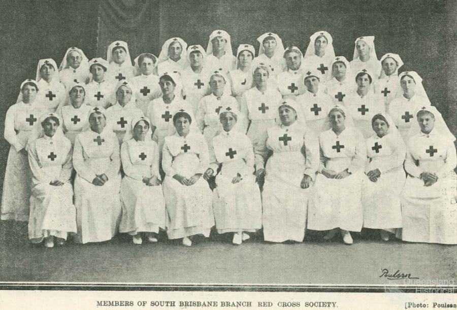 Red Cross Society And World War I In Queensland Queensland
