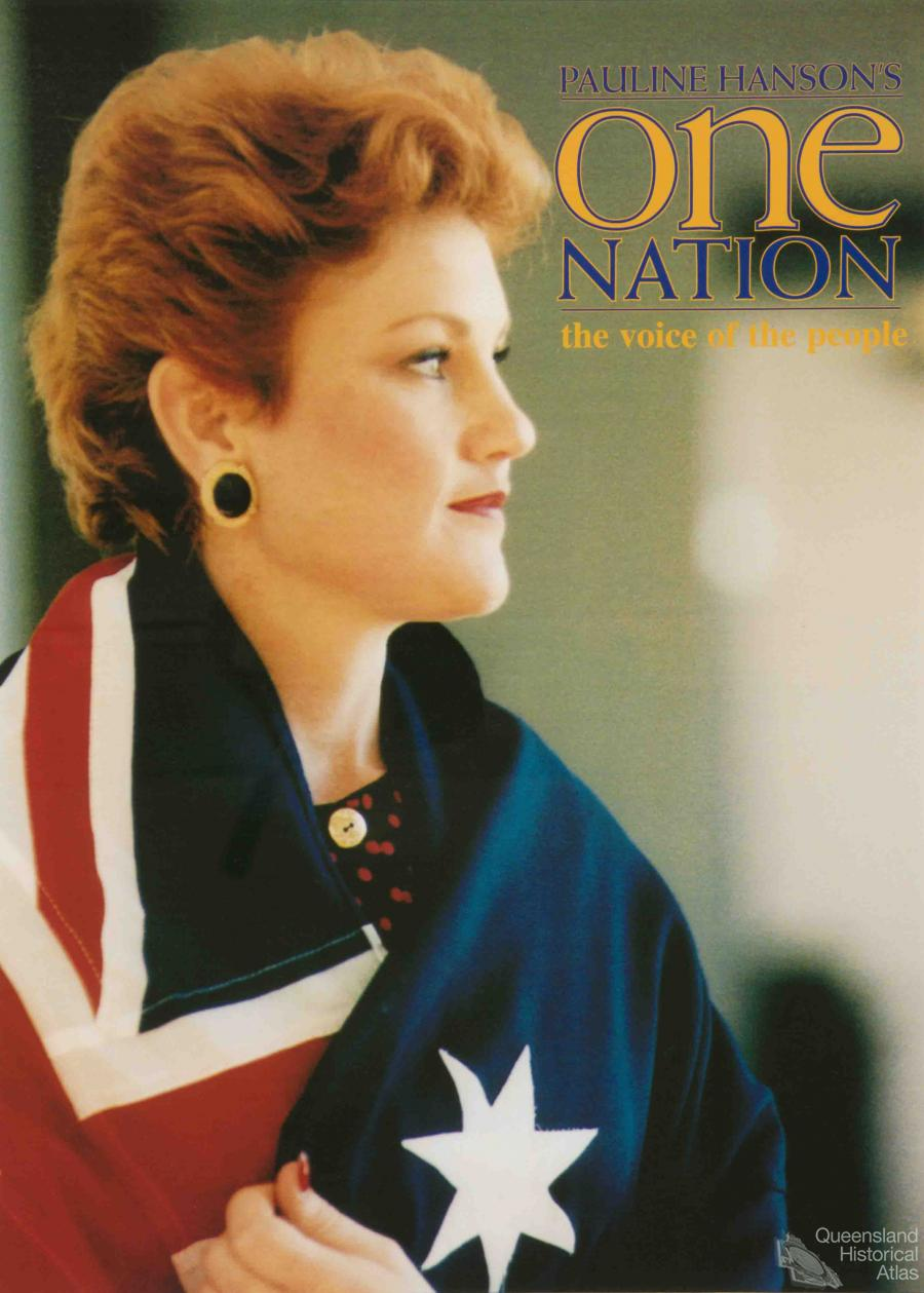 a tale of two elections one nation and political protest queensland historical atlas. Black Bedroom Furniture Sets. Home Design Ideas