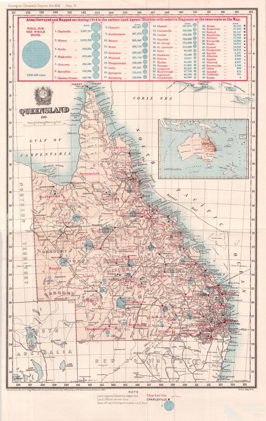 Queensland mapping since 1900 Queensland Historical Atlas