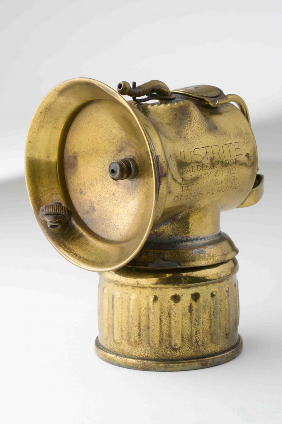 Carbide miners lamp | Queensland Historical Atlas
