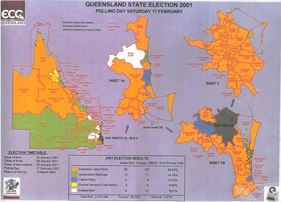 High water mark: the shifting electoral landscape 2001-12