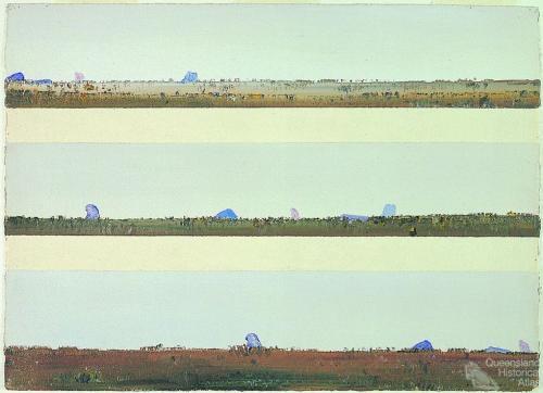 Glasshouse Mountains III, 1971