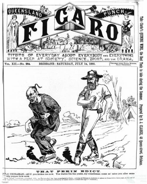 Queensland Punch and Figaro, 14 July 1888