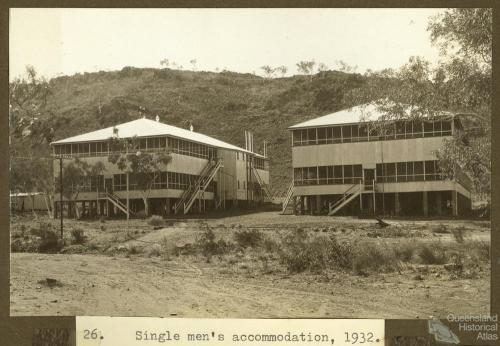 Mount Isa accommodation, 1932