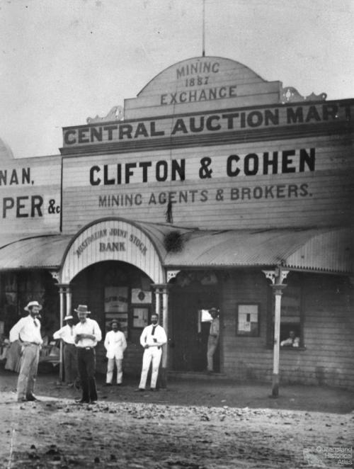 Croydon Mining Exchange, c1895