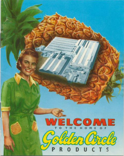 Golden Circle products, Northgate, 1947
