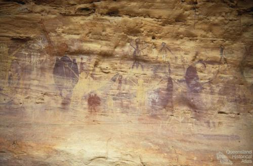 Quinkan Aboriginal rock art, 1988