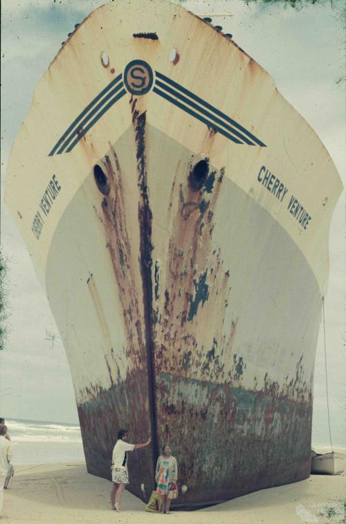 Wreck of the Cherry Venture, 1973