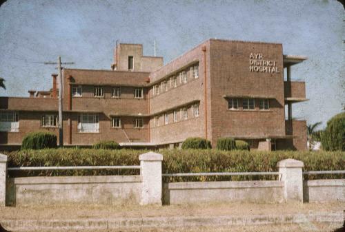 Ayr District Hospital, c1958