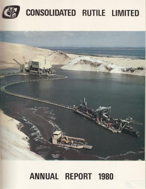 Consolidated Rutile Limited, Annual report, 1980