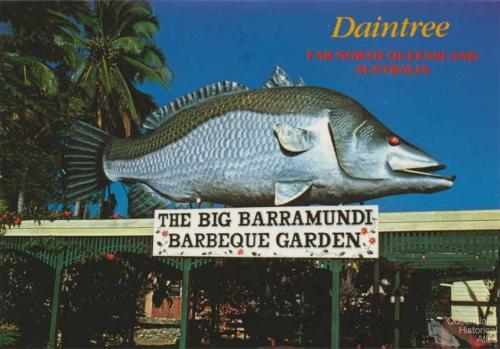 The Big Barramundi Barbeque Garden, Daintree