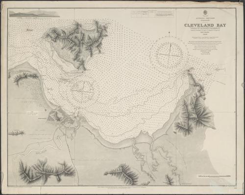 Cleveland Bay, mariner's survey, 1886