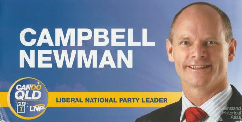 Campbell Newman, 2012