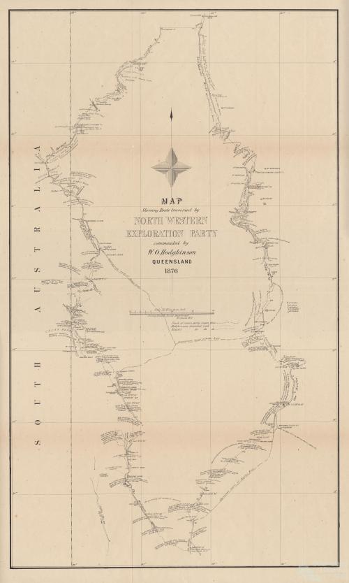 William Hodgkinson, North West Exploration Party, 1876