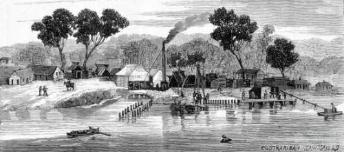 The lake scenery of Noosa, 1887