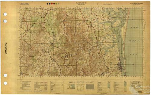 Military survey, Tamborine, 1954