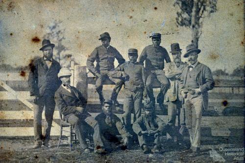 Queensland Native Police sent to hunt the Kelly Gang, 1879
