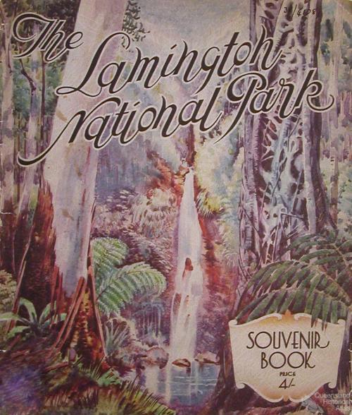 Lamington National Park, Souvenir Book, 1938