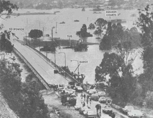 Centenary Bridge, Jindalee, 1974