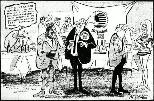 Brisbane's 1982 Commonwealth Games bid commences, 1974