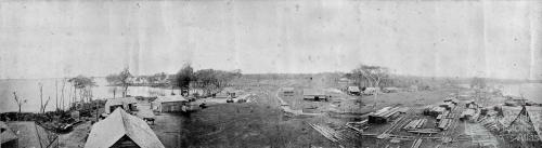 Cootharaba Sawmill at Elanda Point, c1880s