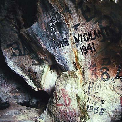 Graffiti, Booby Island, 1969