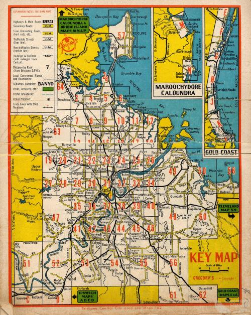 Gregory's street directory, 1966