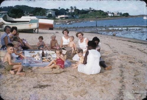 Hyndman family birthday party, Thursday Island, 1958