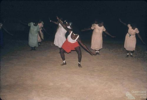Dancing Coming of the Light ceremony, Thursday Island, 1958