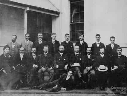 Members of the Postmaster General's Department, Queensland, 1900