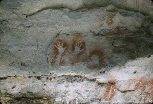 Aboriginal art, Carnarvon Gorge, 1979