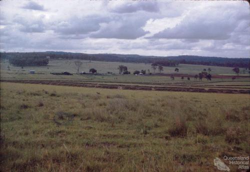 Contour farming, Durong, 1958