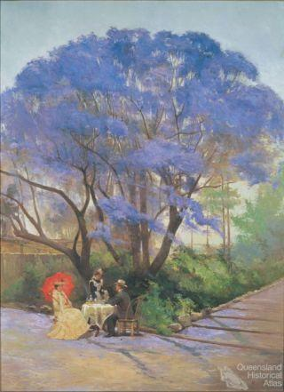 Under the jacaranda, 1903