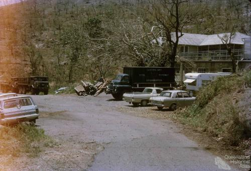 Emergency Civil Defence Services, Townsville after Cyclone Althea, 1972