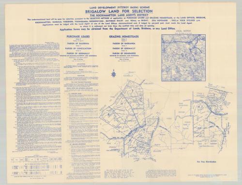 Brigalow land sale, 1963