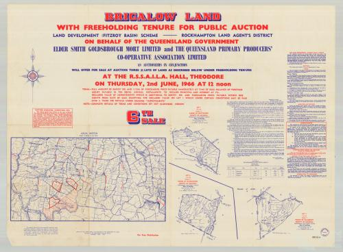 Brigalow land sale, 1966