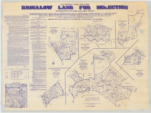 Brigalow land sale, 1967