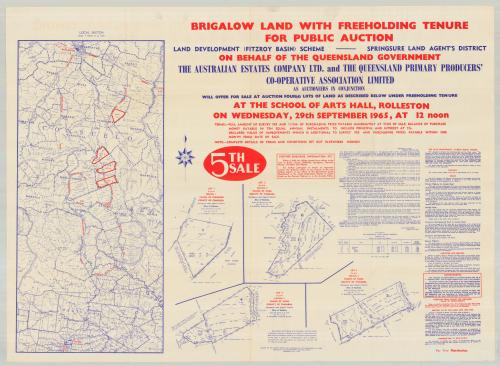 Brigalow land sale, 1965