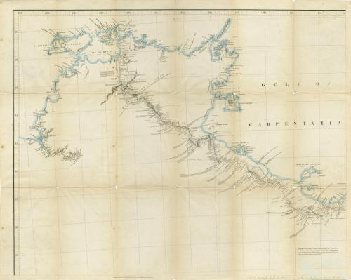 Leichhardt's route from Moreton Bay to Port Essington, 1847